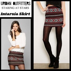 NWT Urban Outfitters Staring @ Stars Skirt, Sz M